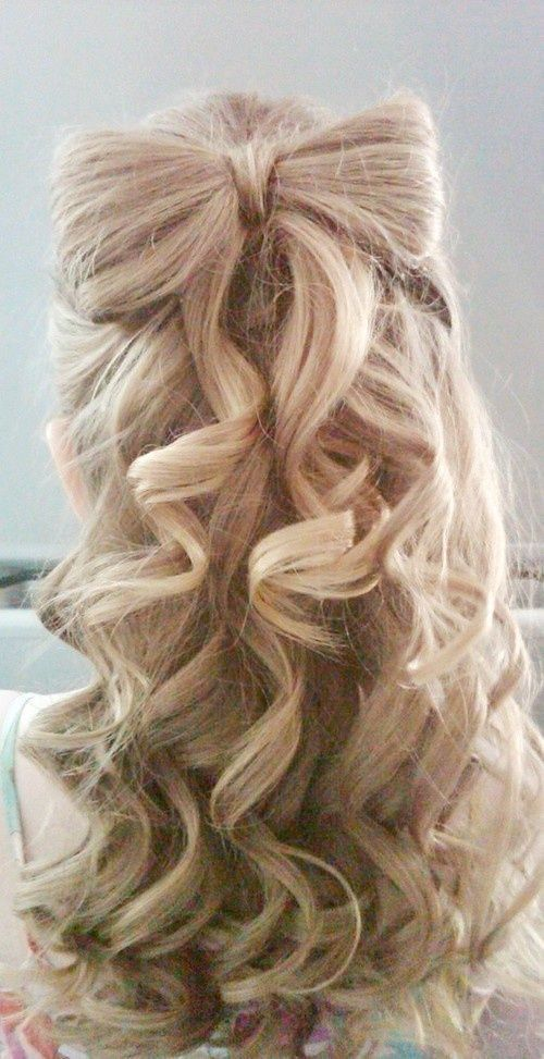 Curly Bow Hairstyle Pictures Photos And Images For