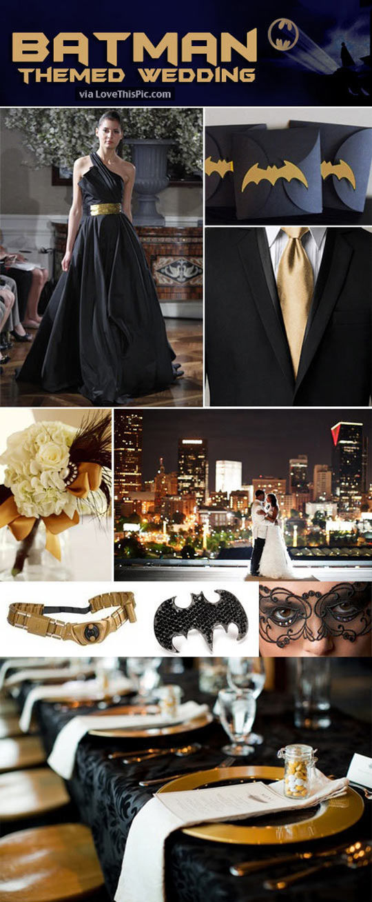 Batman Themed Wedding Pictures Photos And Images For