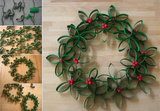 Christmas Paper Wreath Pictures Photos And Images For