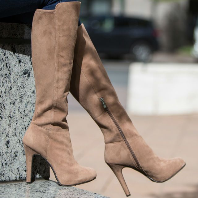 fade11eacab Jessica Simpson Avalona Knee High Leather Boot Pictures, Photos, and ...