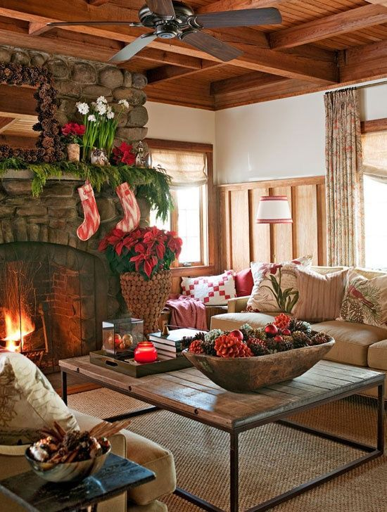 cozy rustic christmas loving room pictures photos and