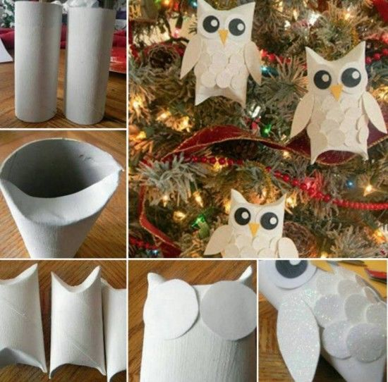 diy paper roll owls pictures photos and images for facebook tumblr pinterest and twitter. Black Bedroom Furniture Sets. Home Design Ideas