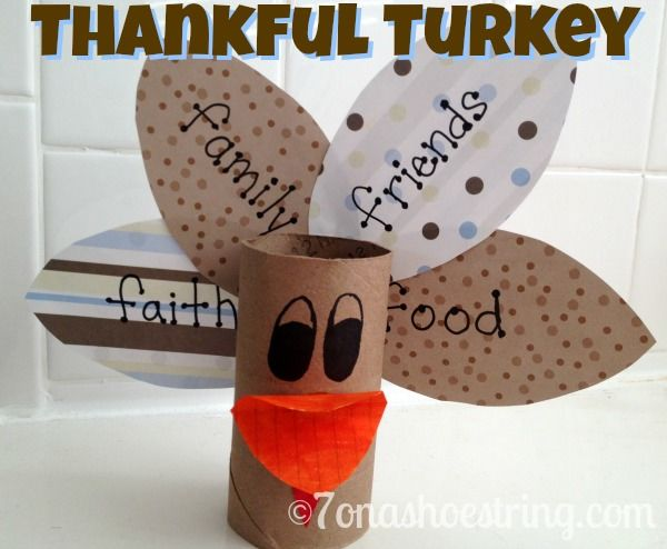 Thankful turkey pictures photos and images for facebook for Easy diy thanksgiving crafts