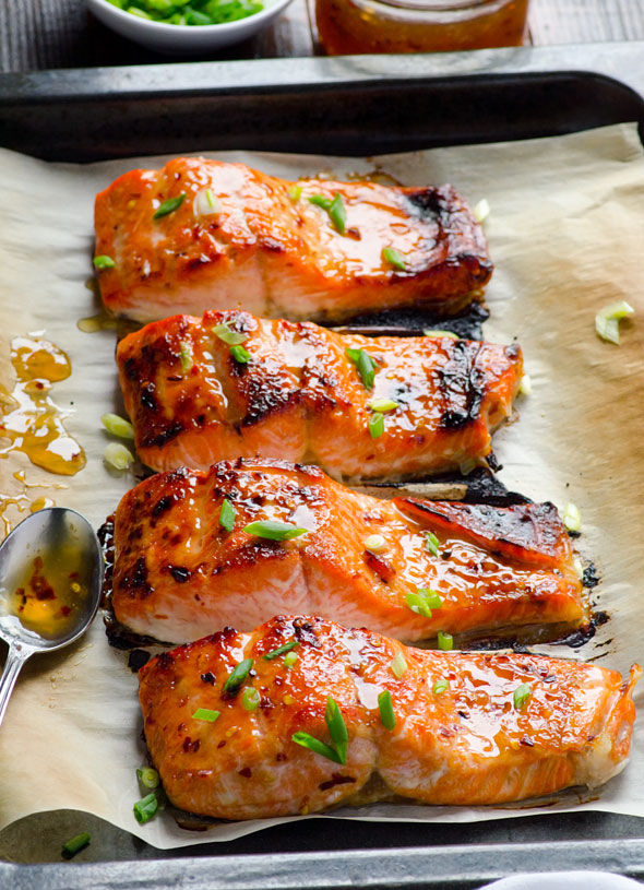Baked thai salmon recipe pictures photos and images for facebook baked thai salmon recipe forumfinder Gallery