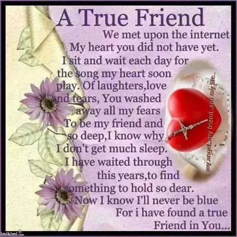 A True Friend Pictures, Photos, and Images for Facebook