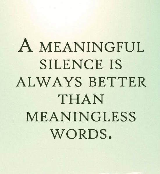 Silence Love Quote: A Meaningful Silence Pictures, Photos, And Images For