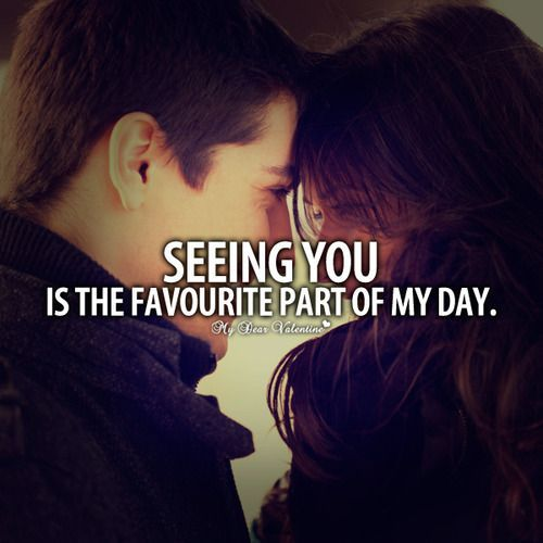 Seeing You Is My Favorite Part Of The Day Pictures, Photos