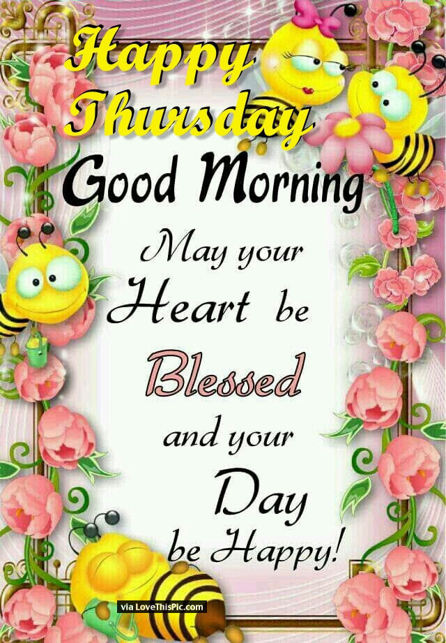Good Morning Sister Greetings : Cute happy thursday good morning image pictures photos