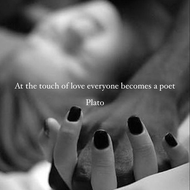 At The Touch Of Love Everyone Becomes A Poet Pictures