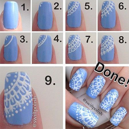 Diy Winter Nail Tutorial Pictures Photos And Images For Facebook