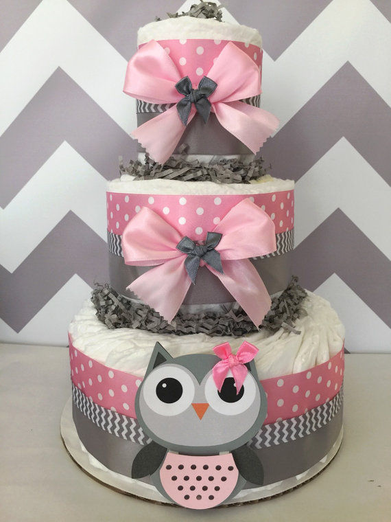 Owl Baby Shower Diaper Cake Pictures, Photos, and Images ...
