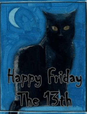 Black Cat Friday The 13th Quote Pictures, Photos, and