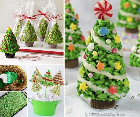 Rice Krispie Treat Christmas Trees Pictures, Photos, and Images ...