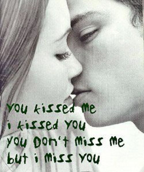 You Don't Miss Me But I Miss You
