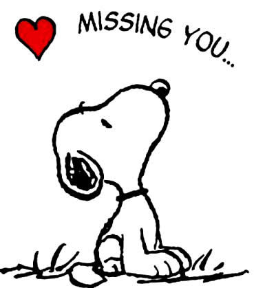 Snoopy Missing You Image Quote Pictures, Photos, and Images ...