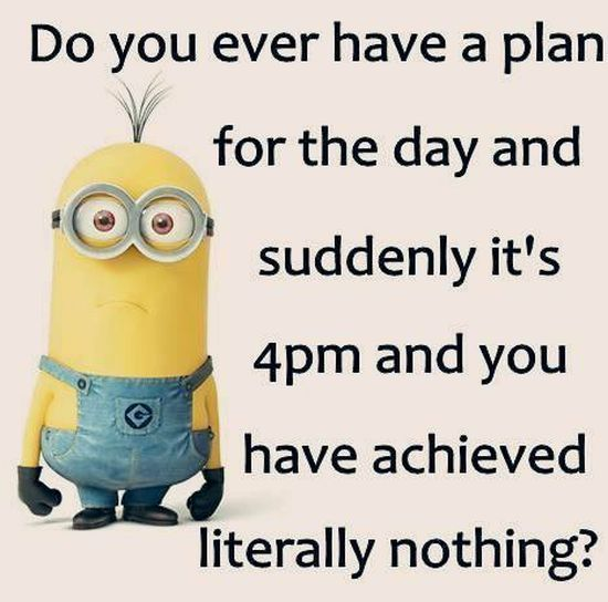 Funny Saturday Quotes: Funny Weekend Minion Quote Pictures, Photos, And Images