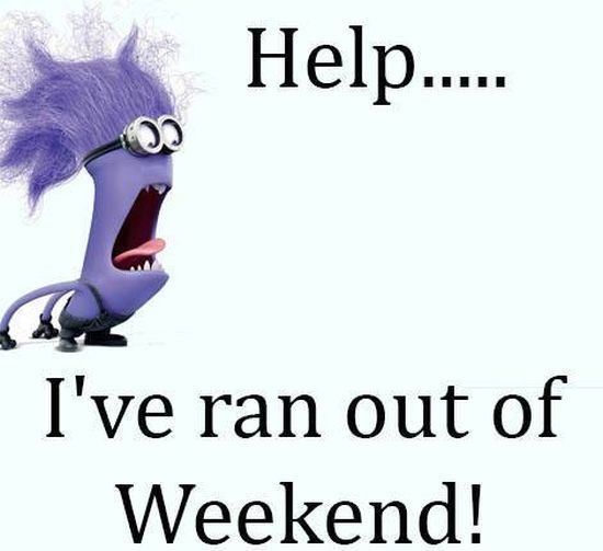 Funny Weekend Quotes: Help I Ran Out Of Weekend Pictures, Photos, And Images For