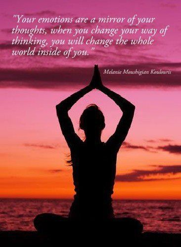 Positive mind thinking quotes