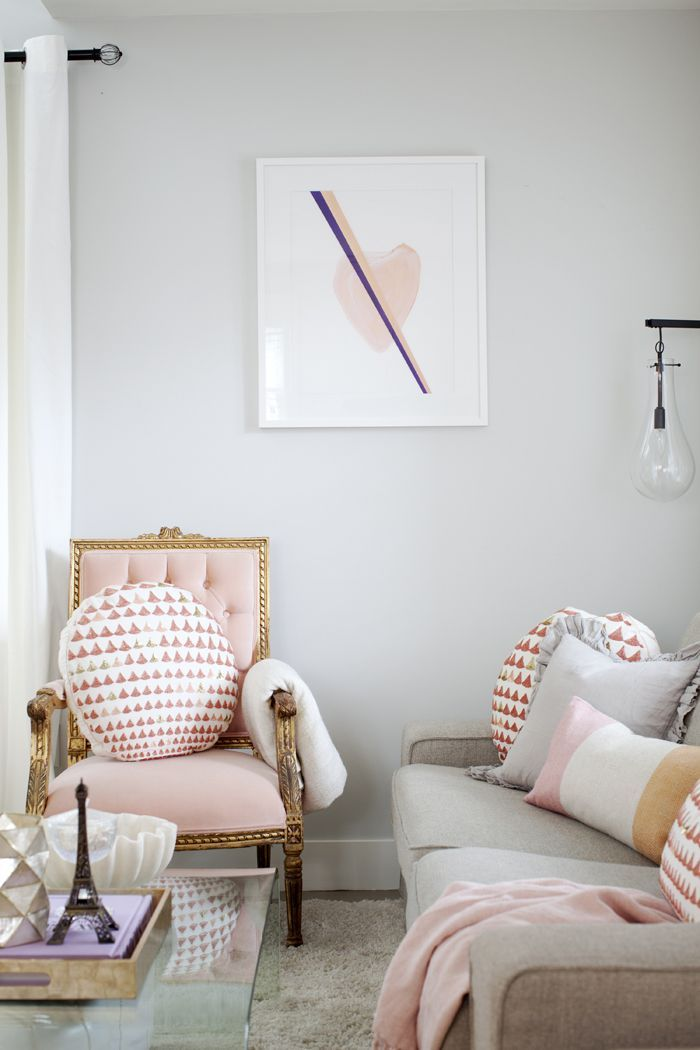 Pop Of Pink Living Room Pictures Photos And Images For