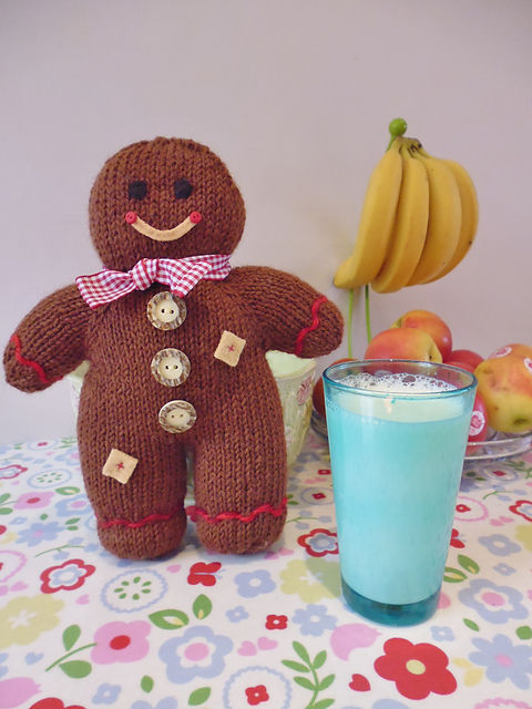 Gingerbread Man Knitting Pattern : Gingerbread Knitting Tutorial Pictures, Photos, and Images for Facebook, Tumb...