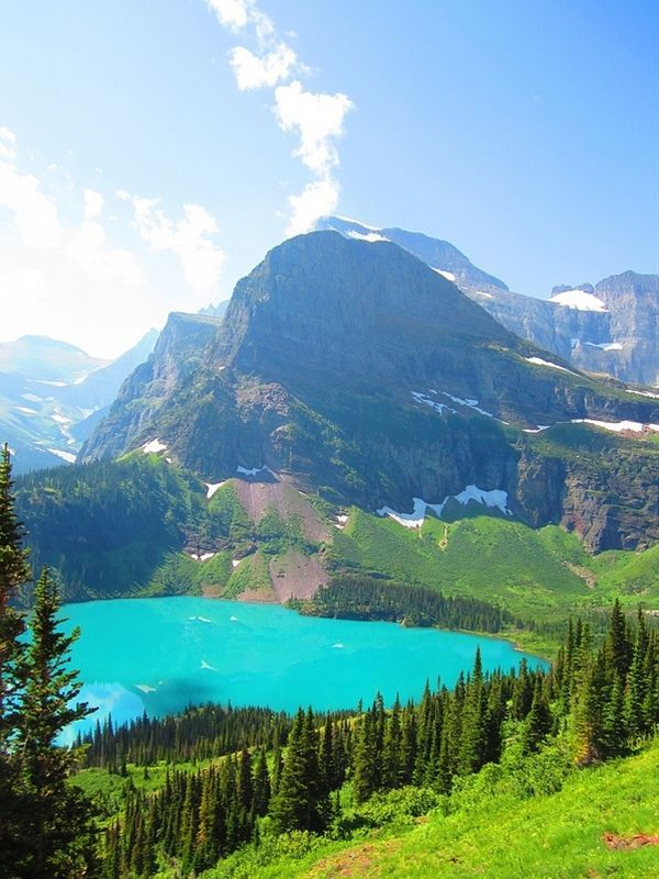 Grinnell Lake,Glacier National Park Pictures, Photos, and Images for ...