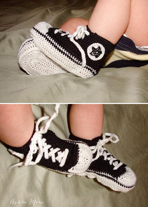 Baby Crochet Converse Shoes Pictures Photos And Images For