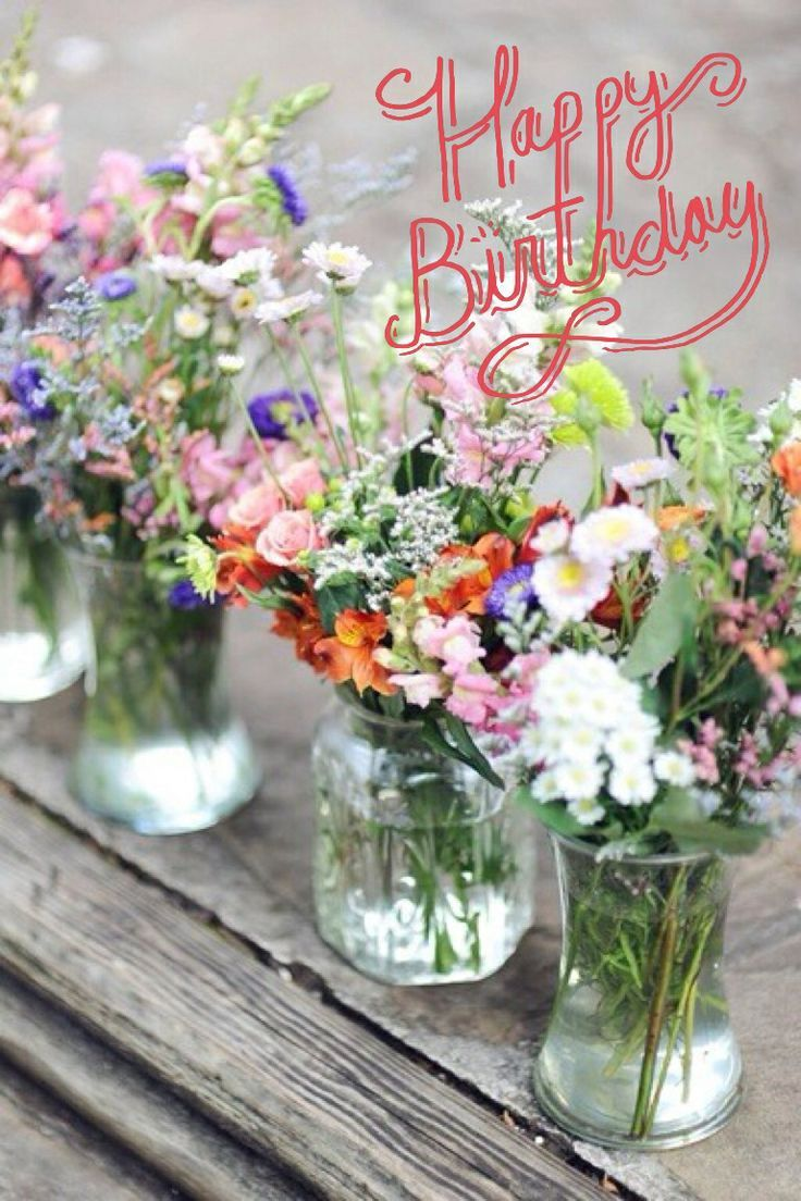 Pictures Flowers Happy Birthday Bedwalls