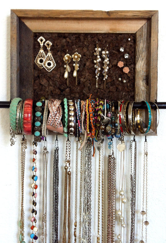 Barn Wood Jewelry Organizer Pictures Photos and Images for