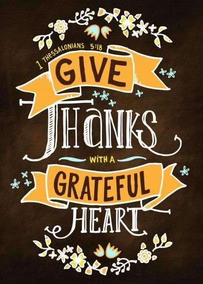 Give Thanks With A Grateful Heart Pictures, Photos, and ...