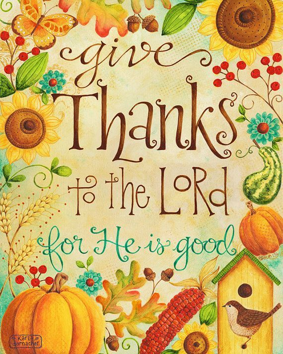 Image result for give thanks to the lord