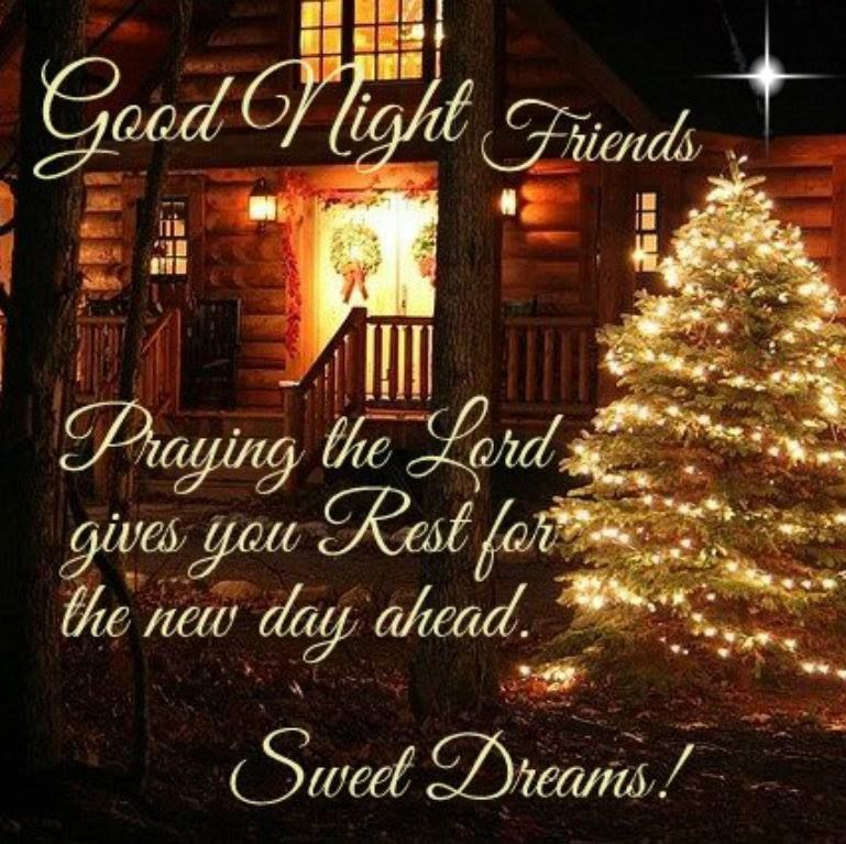 Christmas Good Night Quote