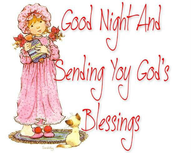 Good Night Blessings Images And Quotes: Goodnight Sending You Gods Blessings Pictures, Photos, And