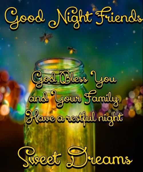 Friends Fun Nights Quotes : Pics photos good night friends quotes