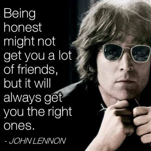 john lennon quote about honesty pictures photos and