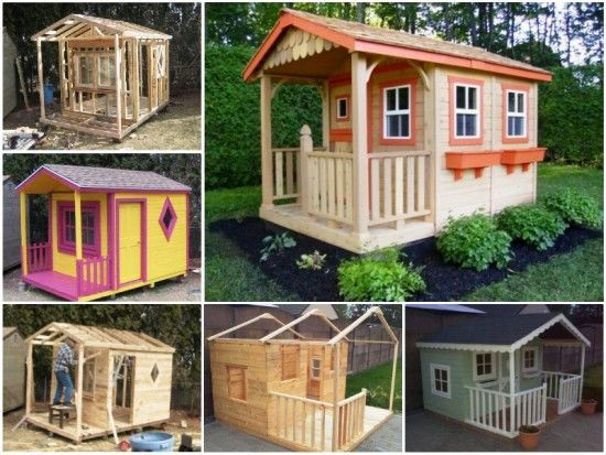 Diy Pallet Playhouse Pictures Photos And Images For