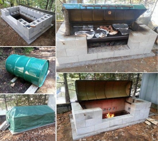 Diy Large Rotisserie Bbq Pit Pictures Photos And Images