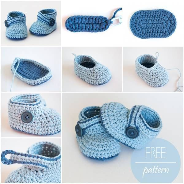 DIY Adorable Crochet Blue Whale Baby Booties Pictures, Photos, and ...