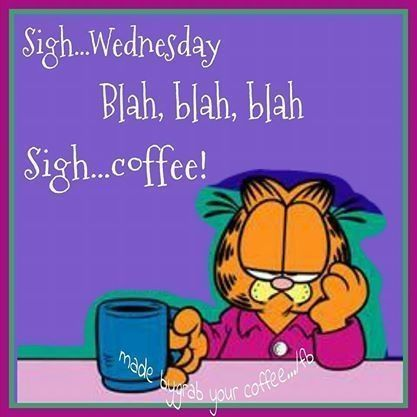 Sigh Wednesday Garfield Quote Pictures, Photos, and Images ...