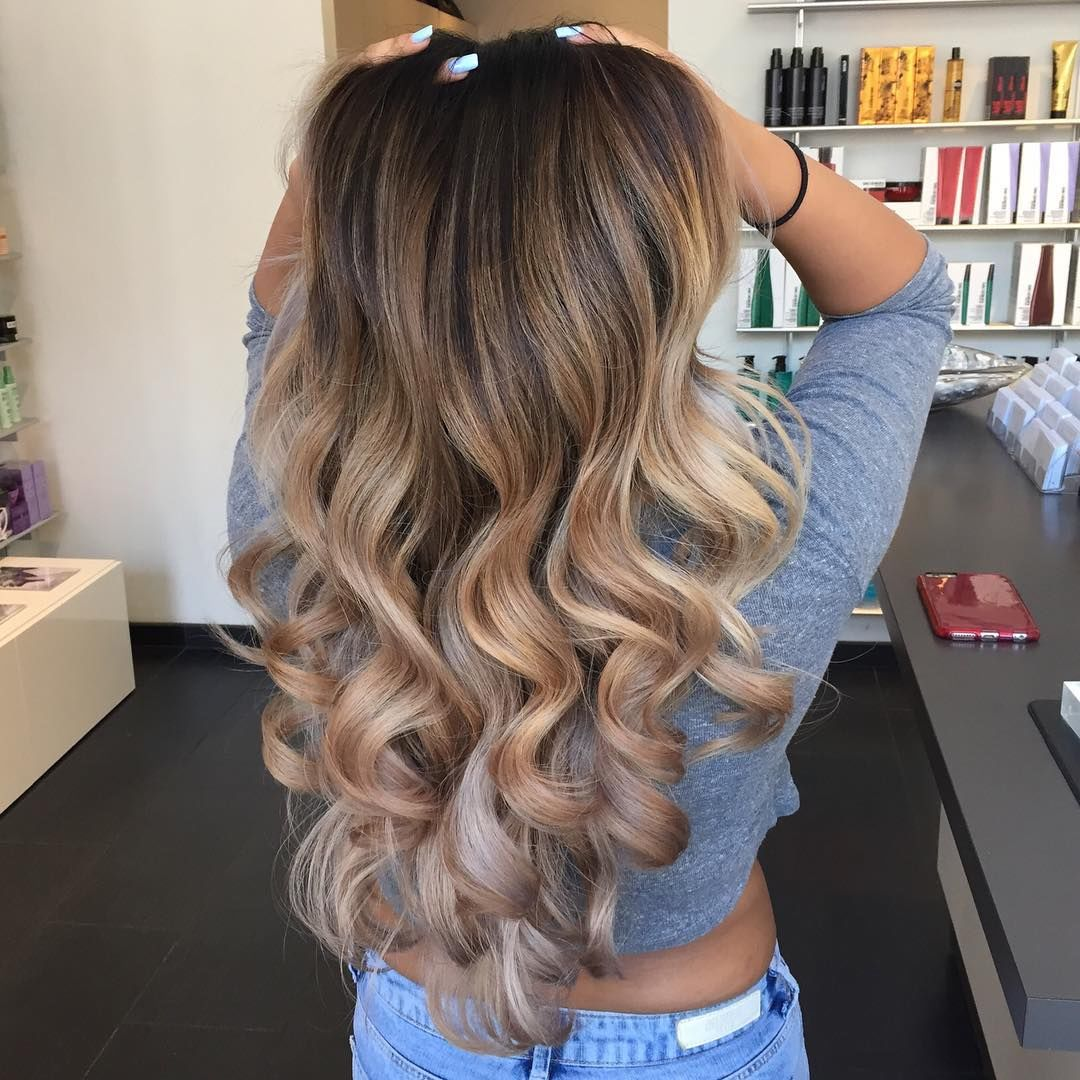 Curly Blonde Balayge Hair Pictures Photos And Images For Facebook