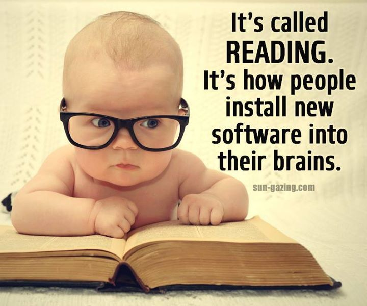 Image result for It's called reading