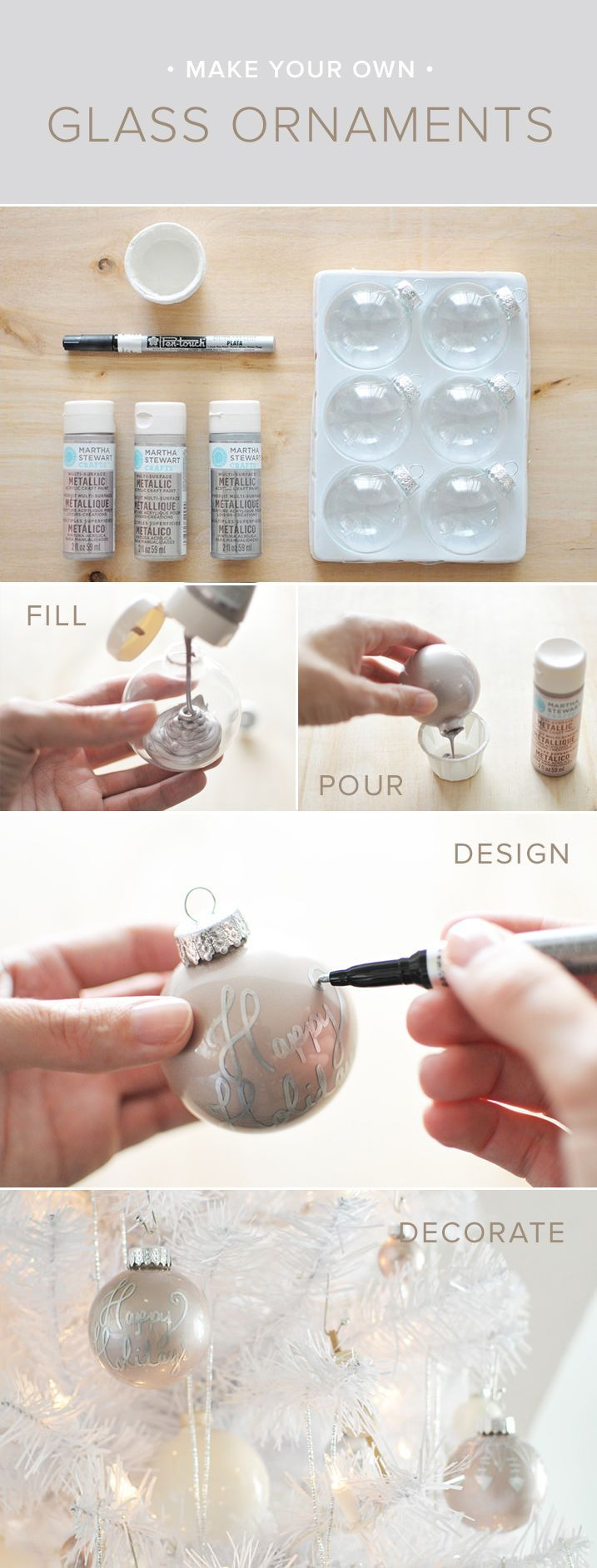 How to make your own glass ornaments pictures photos and for How to make your own ornaments ideas