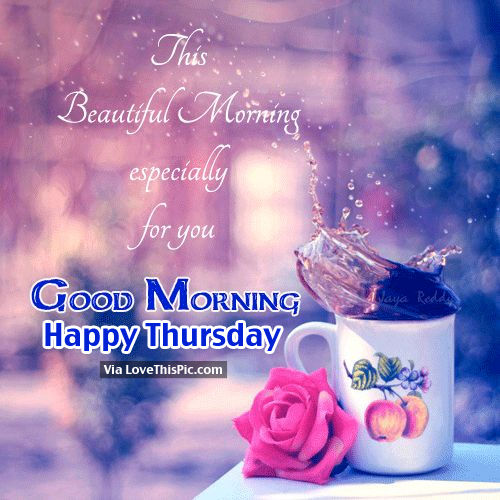 Good Morning Beautiful Family : Good morning happy thursday pictures photos and images