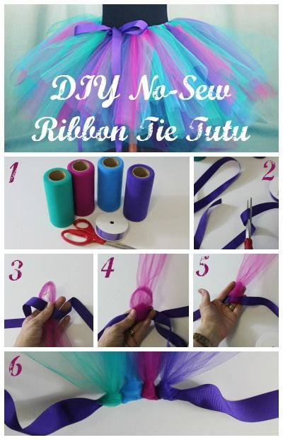 diy no sew ribbon tie tutu pictures  photos  and images