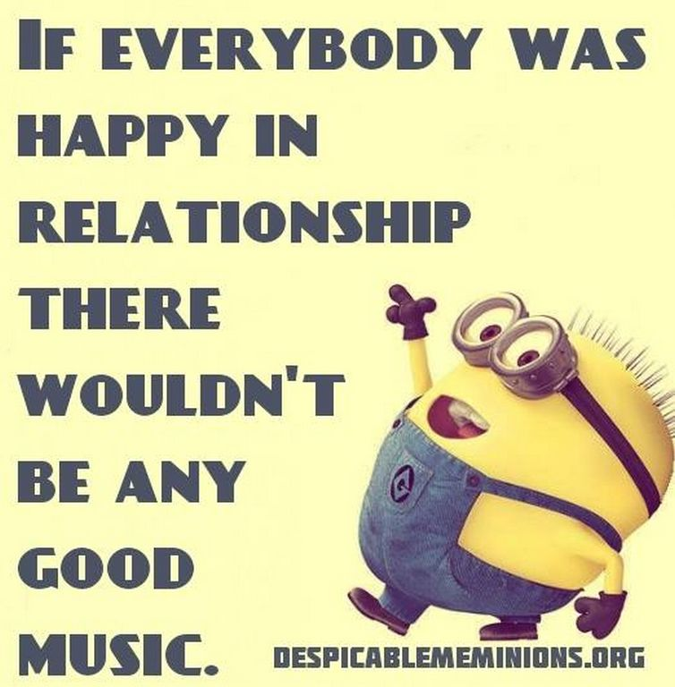 Very Funny Valentine Quotes: Funny Music Minion Quote Pictures, Photos, And Images For