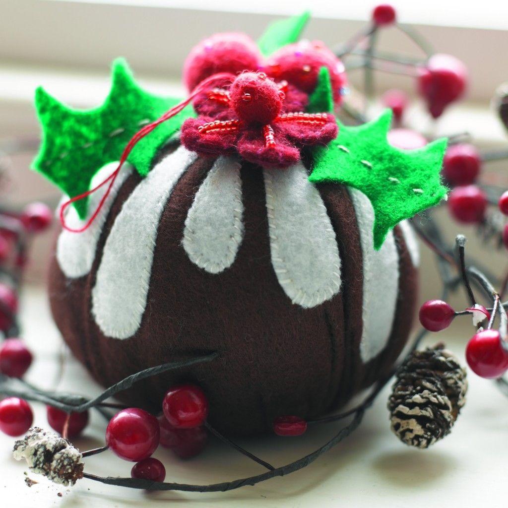 Christmas Tree Decorations Facebook: Handmade Christmas Pudding Tree Decorations Pictures