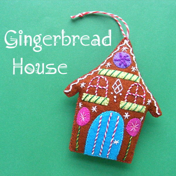 Felt Gingerbread House Pictures Photos And Images For