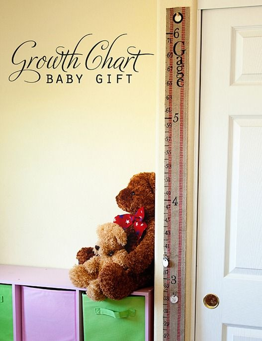 Growth Chart Baby Gift Pictures Photos And Images For Facebook
