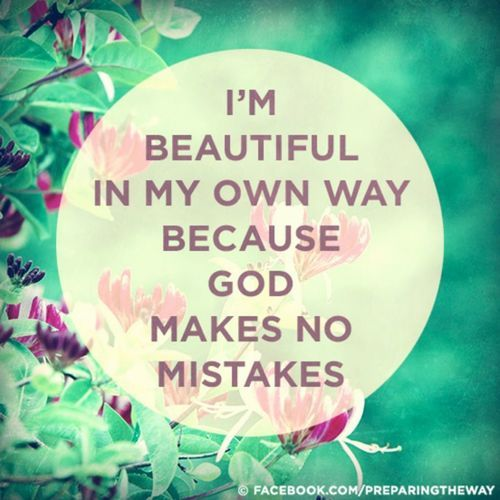 I Am Beautiful Quote