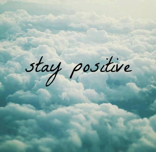 Stay Positive Image Quote