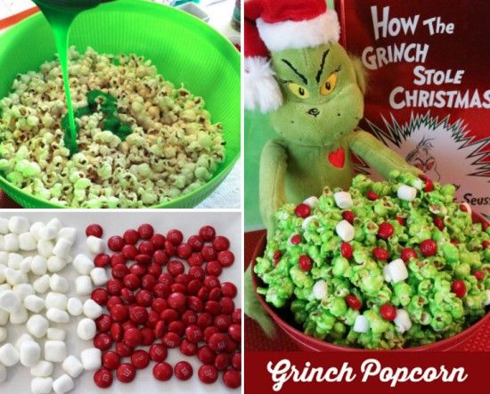 Christmas Popcorn Recipes.Grinch Popcorn Recipes Pictures Photos And Images For